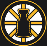 Copy of Black Bruins Stanley Cup Logo Shirt
