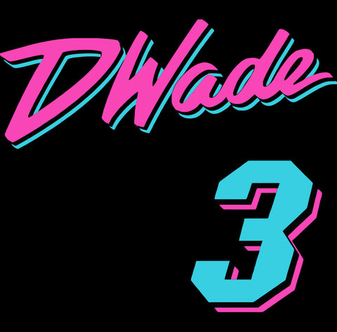 Black Miami D Wade Vice City Shirt