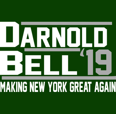 New York Darnold Bell 2019 Shirt