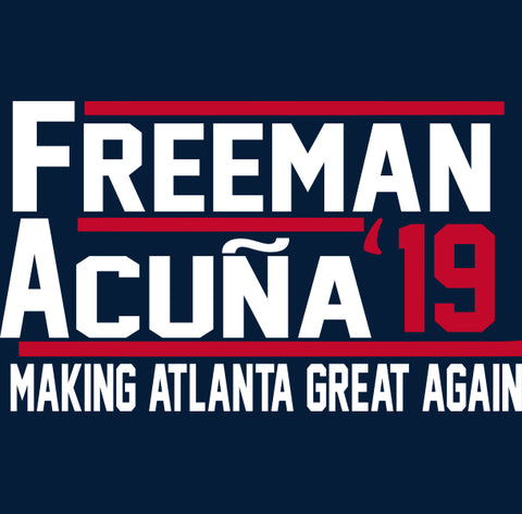 Atlanta Freeman Acuna 2019 Shirt