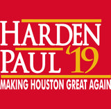 Houston Harden Paul 2019 Shirt