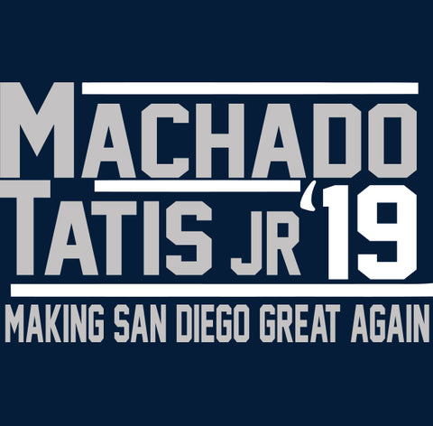 San Diego Machado Tatis Jr 2019 Shirt