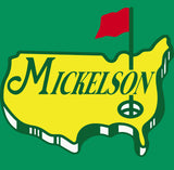 Mickelson The Masters Logo Shirt