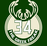 Milwaukee The Greek Freak Logo Shirt