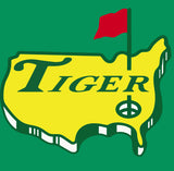 Green Tiger The Masters Logo Shirt