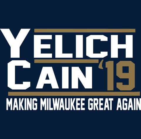 Milwaukee Yelich Cain 2019 Shirt