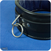 High Quality Real Leather Padded Collar with Rings