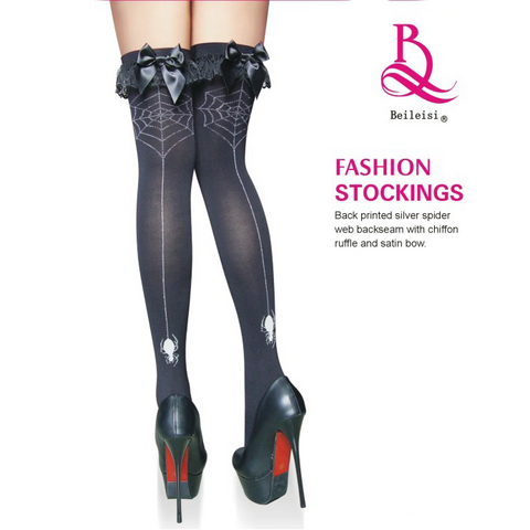 Spider Web Stockings!