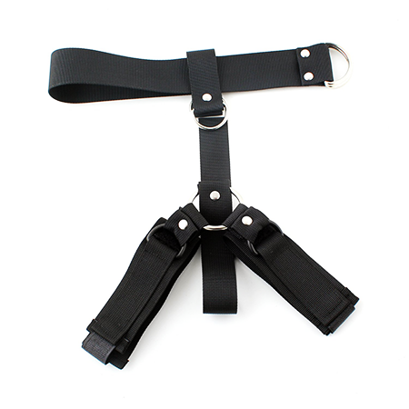 "Nylon Strap and ""D"" Ring Wrist Restraints"