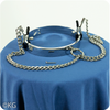 Metal Collar with Nipple Clamps for Smaller Necks