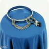 Metal Collar with Nipple Clamps for Larger Necks