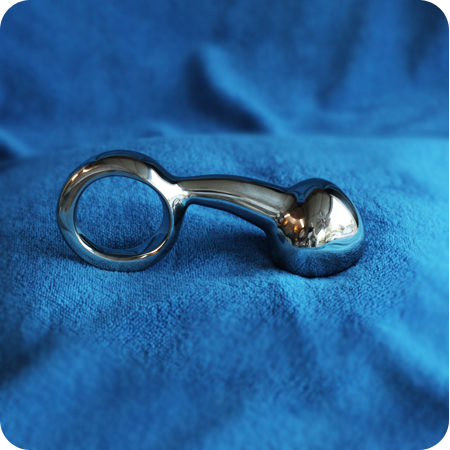PDTz Anal Plug w Ring smooth