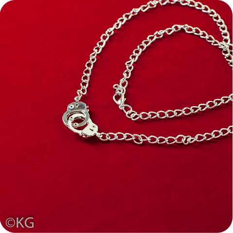 Plain Handcuffs Necklace