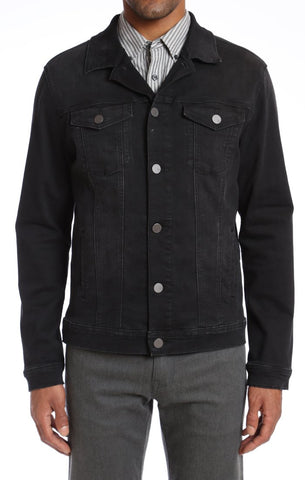 34 heritage - Jacket Travis Black Soft Comfort