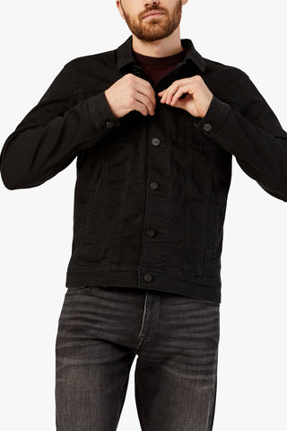 34 heritage - Jacket Travis Black Brushed Denim