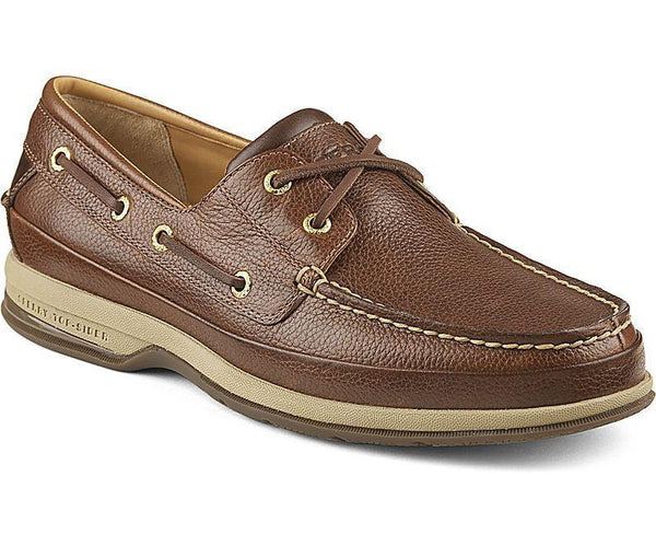 Sperry - Gold ASV 2-Eye Boat Shoe - Cognac - LE CAPITAINE D'A BORD - 1