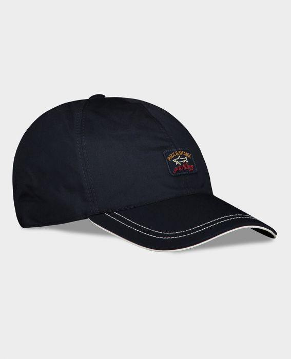 Paul & Shark - Casquette de de coton avec badge - LE CAPITAINE D'A BORD