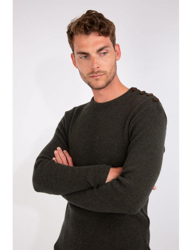 Armor-Lux - Pull marin de lambswool - LE CAPITAINE D'A BORD