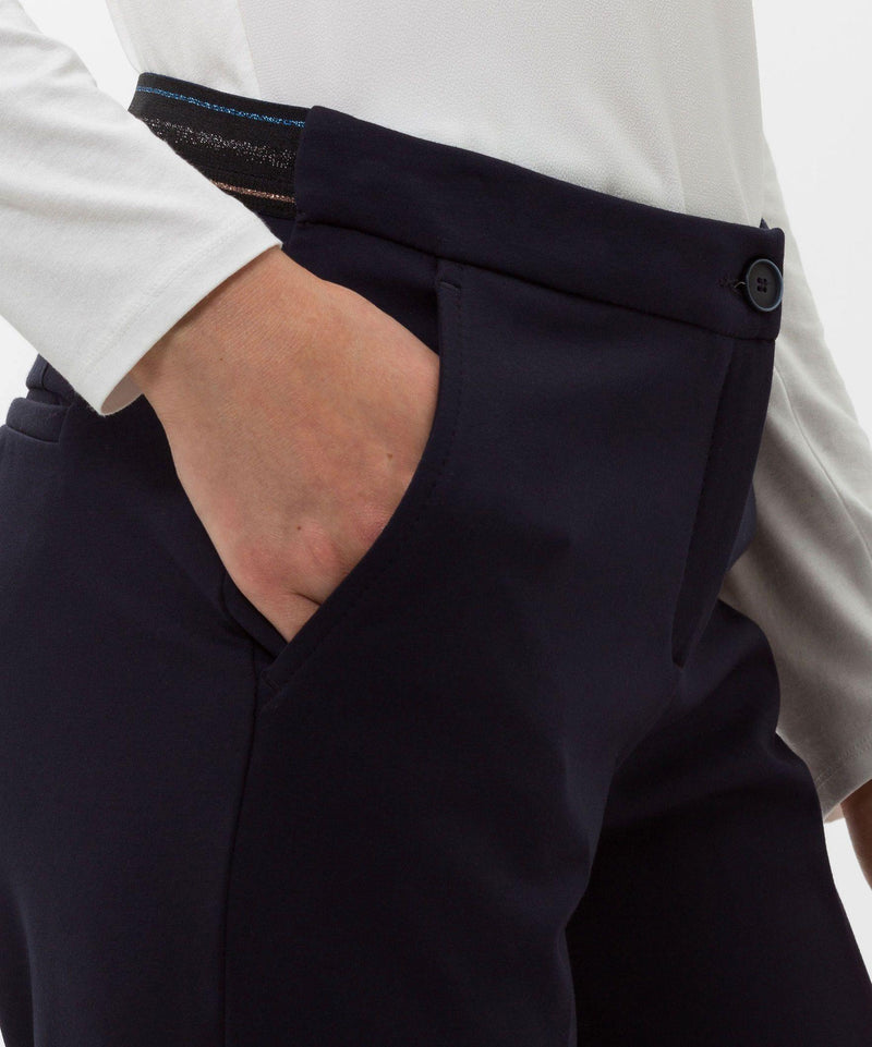 BRAX - Maron - Pantalon de Pull On Slim Fit - LE CAPITAINE D'A BORD