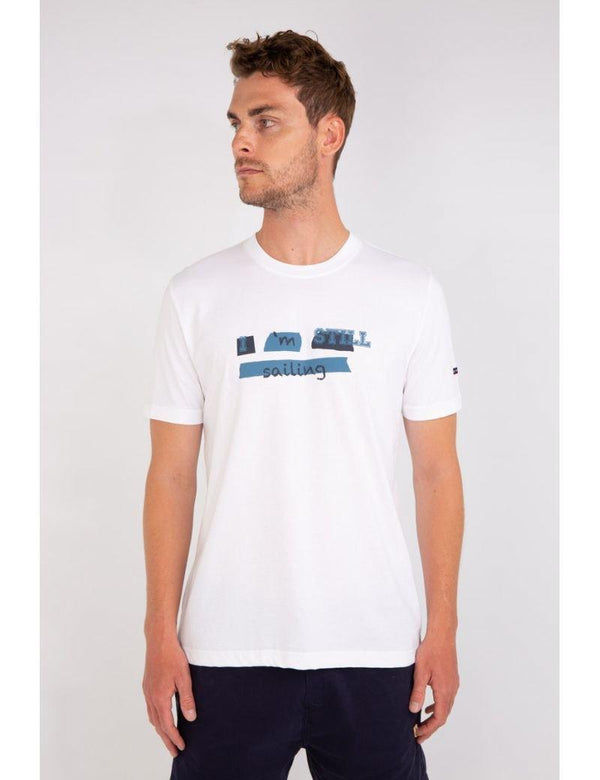 "Armor-Lux - T-shirt manches courtes ""I'm still sailing"""