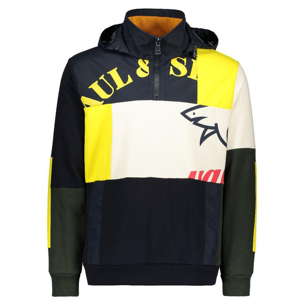 PAUL & SHARK HOODY COLOR BLOCK