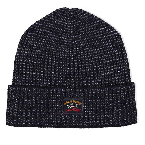 Paul & Shark - Tuque de laine maille 2 tons