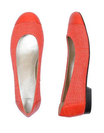 Paul & Shark Ladies - Chaussures tissées - Corail - LE CAPITAINE D'A BORD - 2