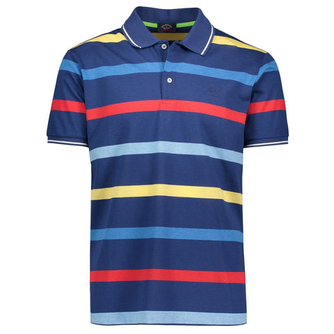PAUL & SHARK POLO SHIRT STRIPED
