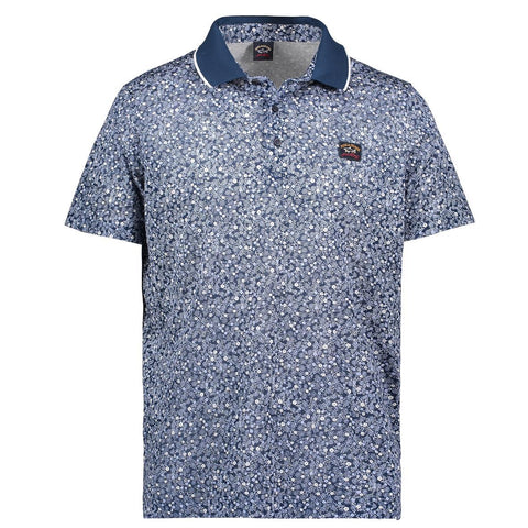 PAUL & SHARK POLO SHIRT FLOWERS