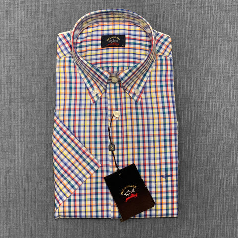 Paul & Shark Short Sleeve Shirt E20P3171