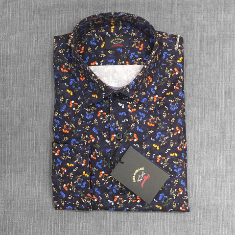 Paul & Shark - Chemise florale - Marine/Multi