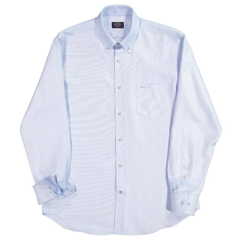 Paul & Shark - Chemise de coton oxford Silver Collection