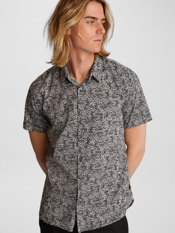 John Varvatos - Jasper Short Sleeve Shirt (2 couleurs disponibles) - LE CAPITAINE D'A BORD