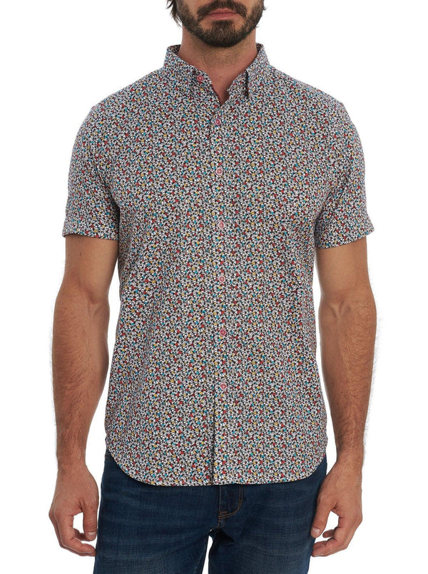 Robert Graham - Chemise manches courtes Ruffin