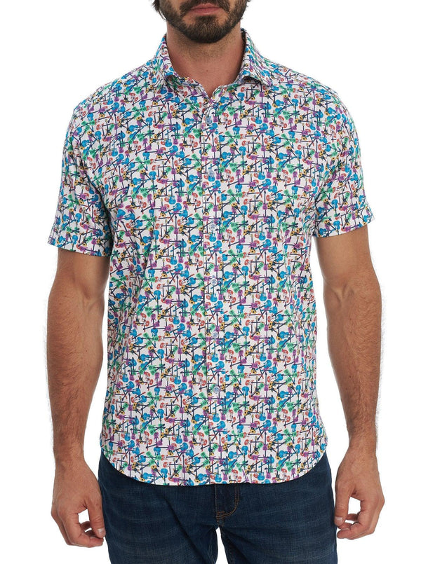 Robert Graham - Chemise manches courtes Jam Out