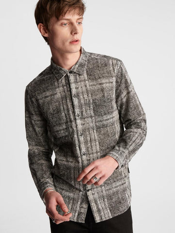 John Varvatos - Neil Reversible Shirt - LE CAPITAINE D'A BORD
