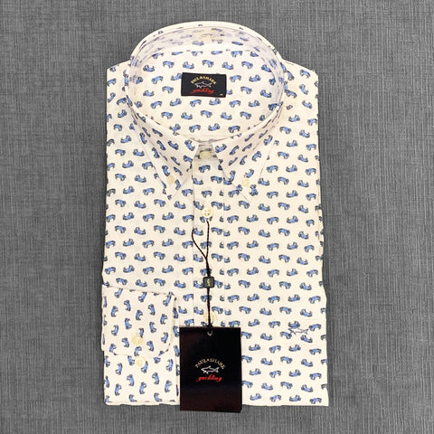 Paul & Shark - Chemise manches longues crabes