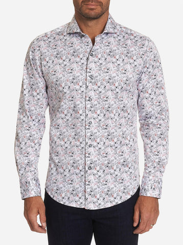 Robert Graham - Chemise High Card - LE CAPITAINE D'A BORD
