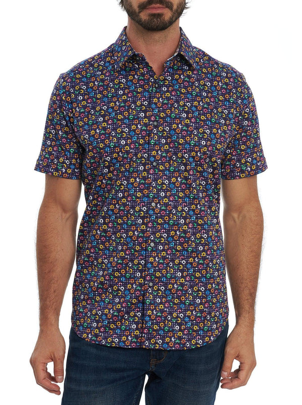 Robert Graham - Chemise manches courtes Spin Me Round