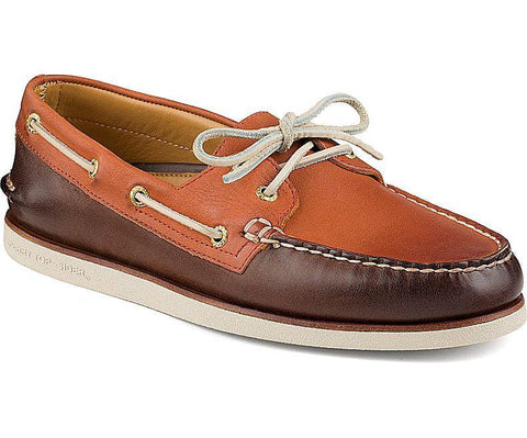 Sperry - Gold A/O Wedge - Brown/Orange - LE CAPITAINE D'A BORD