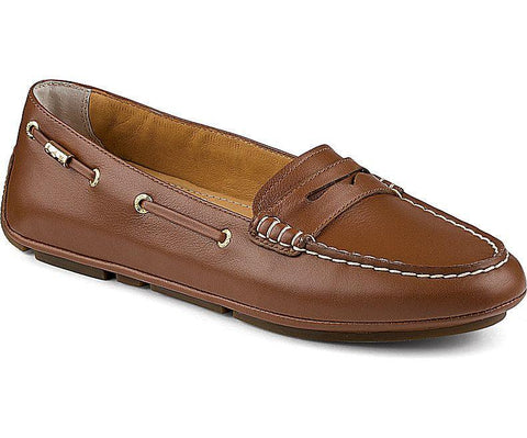 Sperry - Women Gold Penny Driver - Cognac - LE CAPITAINE D'A BORD