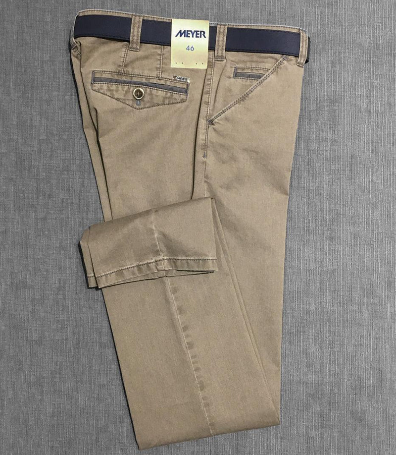 Meyer - Pantalon Chicago 5008 - Tan/44