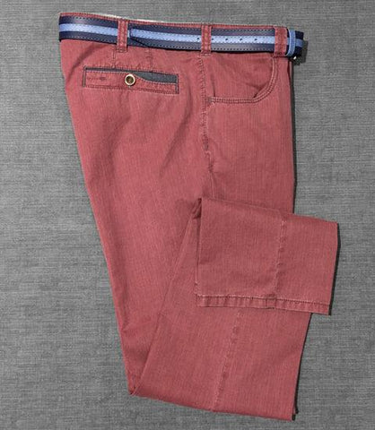 Meyer - Pantalon Diego 5002 - Rouge/55