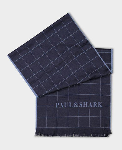 Paul & Shark - Foulard de laine carreaux - LE CAPITAINE D'A BORD