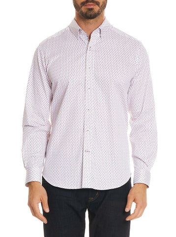 Robert Graham - Chemise Mitchel - Rouge