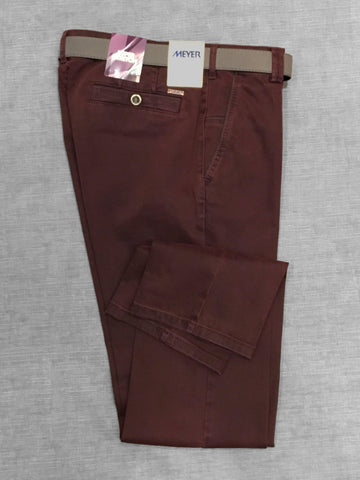 Meyer - Pantalon New York 5550 - Bordeaux/57