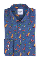 OSCAR OF SWEDEN - Chemise perroquets - Regular Fit - LE CAPITAINE D'A BORD