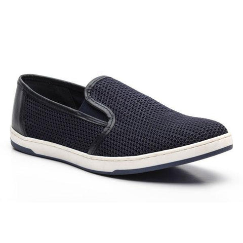 BASE LONDON - Souliers Polka Mesh - Marine