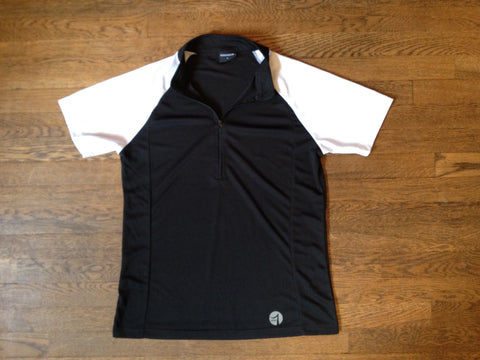 BLACK & WHITE SHORT SLEEVE SHIRT