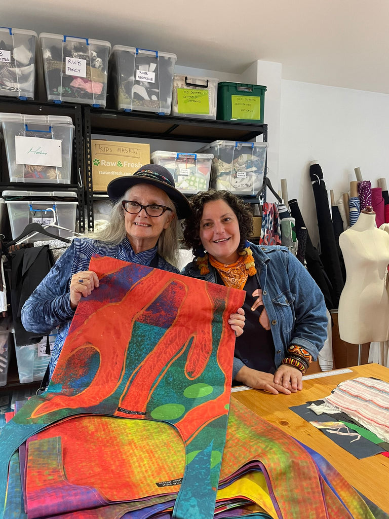 Earn and Learn: Jenny Kee and Linda Jackson Step Into Paradise